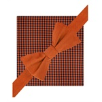 Tommy Hilfiger Mens Silk Gingham Bow Tie and Pkt Sq Neck Tie Set