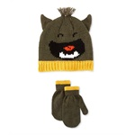 Carter's Boys Little Monster Set Beanie Hat