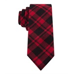 Tommy Hilfiger Mens fading Plaid Slim Necktie