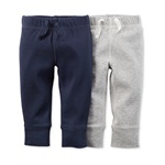 Carter's Boys 2-Pack Little Layette Casual Sweatpants