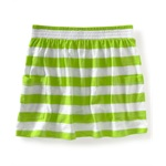 Aeropostale Womens Stripe Pocket Mini Skirt
