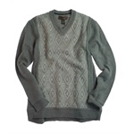 Tasso Elba Mens Lux Swtr Table Pull Over Knit Sweater