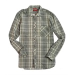 Alfani Mens Ls Pld Westn Yk Bias Button Up Shirt