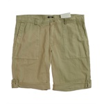 bar III Mens Solid Rolled Cuff Athletic Walking Shorts