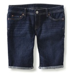 Aeropostale Womens Denim Casual Bermuda Shorts