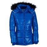 Aeropostale Womens Lightweight Hooded Puffer Jacket