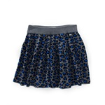 Aeropostale Womens Leopard Print Knit Mini Skirt