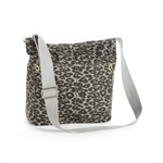 Aeropostale Womens Animal Print Canvas Tote Handbag Purse