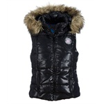 Aeropostale Womens Detachable Hooded Puffer Vest