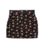 Aeropostale Womens Stretch Knit Floral Short Mini Skirt