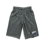 Aeropostale Mens Solid Color Pocketed Athletic Walking Shorts