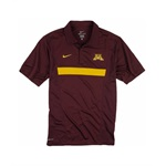 Nike Mens Dri-fit Minnesota Coaches Rugby Polo Shirt