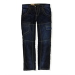 Request Mens Straight Denim Slim Fit Jeans