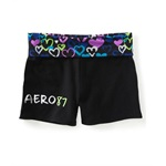 Aeropostale Womens Aero Yoga Athletic Sweat Shorts