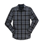I-N-C Mens Soft Plaid Button Up Shirt