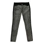 Material Girl Womens Leopard Block Skinny Fit Jeans