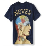 Aeropostale Boys Never Graphic T-Shirt