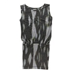 Rachel Roy Womens Ikat Dropped Waist Dress