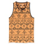 Aeropostale Mens Reversed Southwest Tank Top