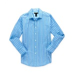 I-N-C Mens Comber Striped Button Up Shirt