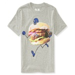 Aeropostale Boys Football Hamburgar Graphic T-Shirt