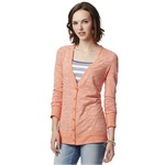Aeropostale Womens Slub Cardigan Sweater