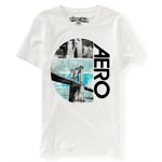 Aeropostale Mens Nyc Bridge Aero Embellished T-Shirt