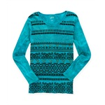 Style&co. Womens Geo Stud Thermal Sweater