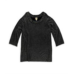 JM Collection Womens Metallic Pullover Sweater