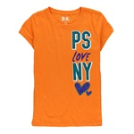 Aeropostale Girls Love NY Embellished T-Shirt