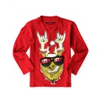 BROTHERS Boys Light-Up Grinch Embellished T-Shirt