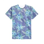 Univibe Mens Vacay Floral Graphic T-Shirt