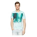 Calvin Klein Mens Shadow Palms Graphic T-Shirt