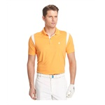 IZOD Mens Game Day Mesh Rugby Polo Shirt