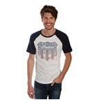 Lucky Brand Mens Indian Motorcycle Graphic T-Shirt
