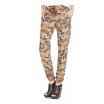 American Rag Womens Printed Ruched-Hem Casual Trousers