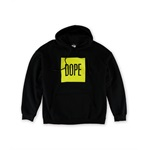 DOPE Mens The Box Pullover Hoodie Sweatshirt