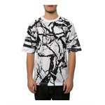 DOPE Mens The Carrara Football Jersey Graphic T-Shirt