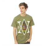 Black Scale Mens The Monas Traditional Interlock Graphic T-Shirt