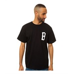 Black Scale Mens The B Logo Graphic T-Shirt