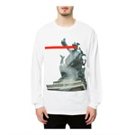 Black Scale Mens The Der Kopf LS Graphic T-Shirt