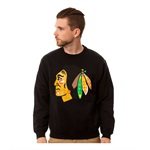 Black Scale Mens The Blackhawk O.G. Crewneck Sweatshirt