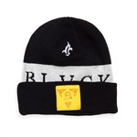 Black Scale Mens The Blvck Knight Beanie Hat