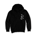 Black Scale Mens The Pyrex Vision Zip Up Hoodie Sweatshirt