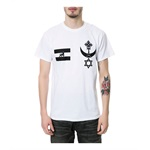 Black Scale Mens The Warrior Blvck Graphic T-Shirt