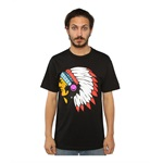Black Scale Mens The Blvck Chief Graphic T-Shirt