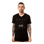 Black Scale Mens The Fear, The New Black Graphic T-Shirt