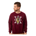 Black Scale Mens The Mona's Traditional Interlock Sweatshirt