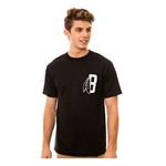 Black Scale Mens The Feather B Logo Graphic T-Shirt