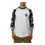 Born Fly Mens the Indianapolis Raglan Graphic T-Shirt